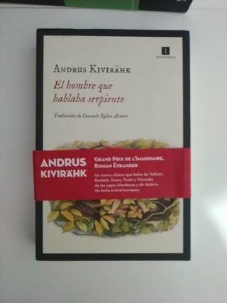 Andrus Kivirähk El Hombre Que Hablaba Serpiente