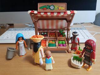 Playmobil Belen Nacimiento Mercado