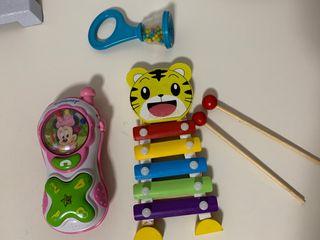 Lote de juguetes para bebé
