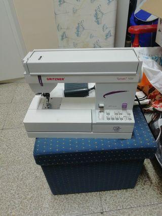 máquina de coser gritzner tipmatic 1035