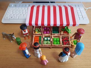 Playmobil Belen Nacimiento Mercado 3