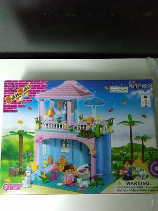 Casa de muñecas para construir. SIN ESTRENAR
