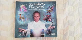 Llibre de cuina de Ferran Adrià.