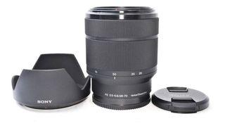 Lente Sony 28-70mm Montura E Impoluto!
