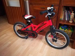 Bicicleta MONTY tamaño 16''