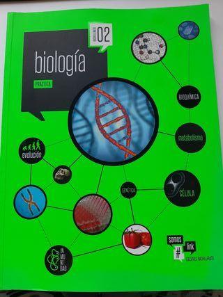 Libro práctica biología 2° bachillerato Edelvives