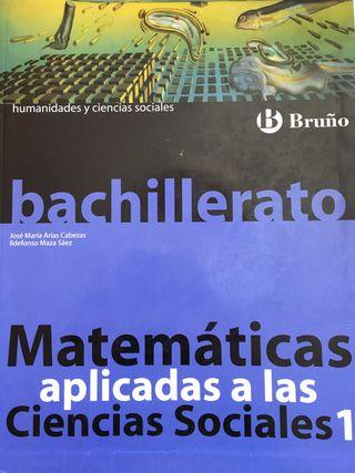 Matemáticas aplicadas 1 de Bachillerato