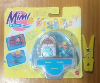Antiguo blister Mimi and the goo goos