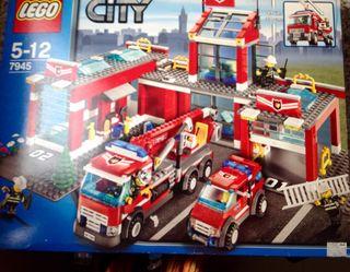 Lego City 7945 Gran estació bombers