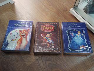 Lote de peliculas Ed Coleccionista Disney