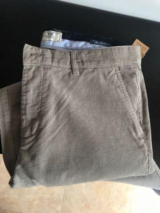 Pantalones Pana Hombre Talla 48 A ESTRENAR