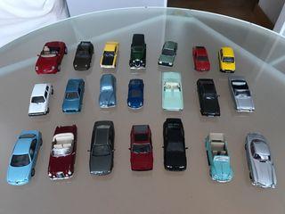 Colección mini coches de exposición