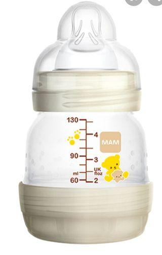 2 biberones MAM 0+ anticolico