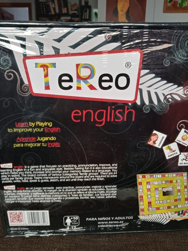 Juego Tereo (aprende ingles)
