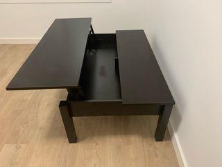 TRULSTORP Mesa de centro, negro marrón, 115x70 cm IKEA