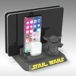 cargador todos los iphone,tablet, airpods y Samsun