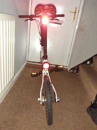Xiaomi qicycle EF1 electric folding bike .