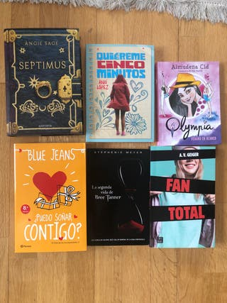 Pack 6 libros juveniles