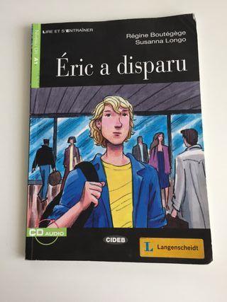 LIBRO FRANCÉS ÉRIC A DISPARU