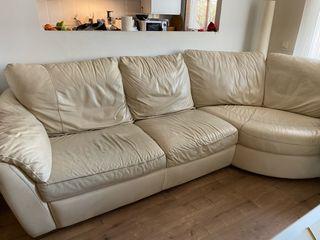 Sofá de piel de IKEA