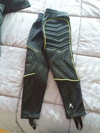 pantalón fútbol portero
