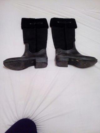 botas alta de agua