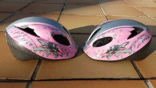 cascos bici niñas