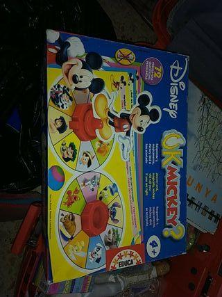 Juego de mesa Mickey