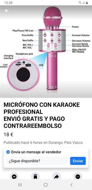 Microfonos Karaoke Nuevos