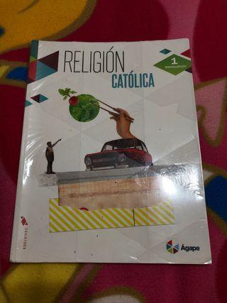 Libro Religión Católica 1º Bachillerato