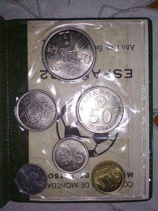 Monedas Colección MUNDIAL 1982 sin circular