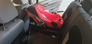 Silla de coche para bebé con base Isofix