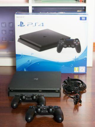 Pack PS4 + 4 juegos + teclado, ratón y auriculares