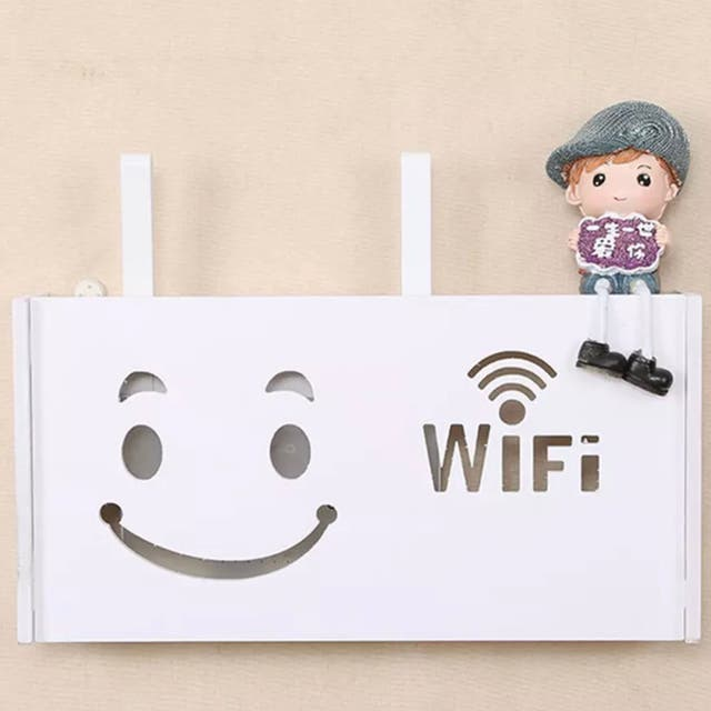 Caja WIFI, FIBRA con cara Feliz