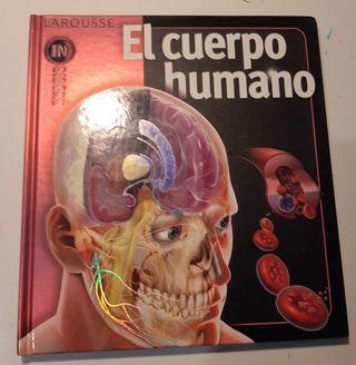 libro el cuerpo humano Larousse