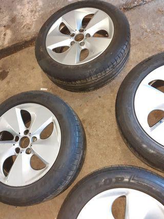 llantas bmw 17 pulgadas (sin neumáticos)