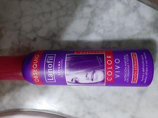 espuma para el cabello