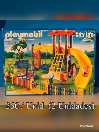 5568 playmobil Parque Infantil