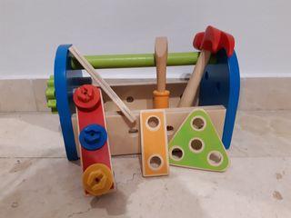 Caja herramientas madera