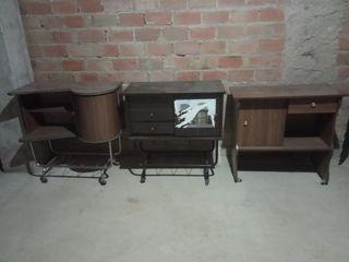 Muebles de TV 5 € cada uno