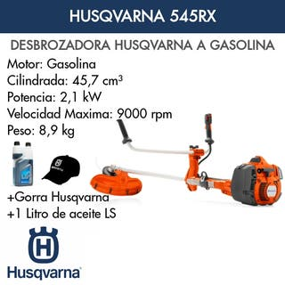 Desbrozadora Husqvarna 545 RX