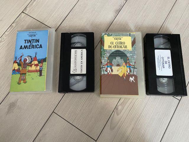 2 películas de TINTIN (pack)
