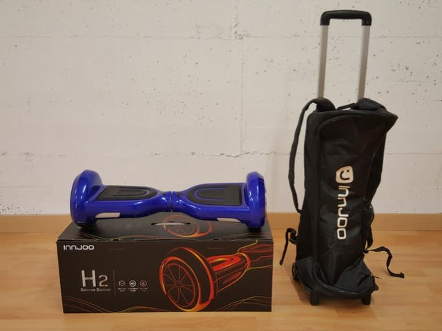 Patinete Hoverboard.