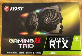 MSI GeForce RTX 2080 Gaming X Trio 8GB GDDR6