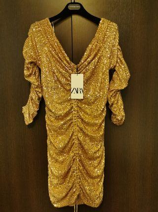 vestido de Lentejuelas Nuevo