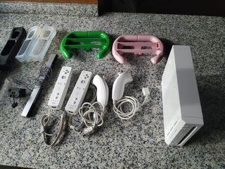 Consola Wii y 30 juegos
