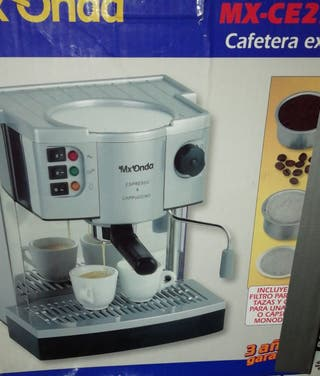 Cafetera exprés