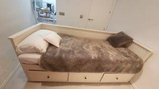 cama nido y sofa con desplazable + 2 colchones