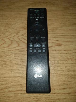 Mando de televisión marca LG