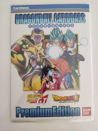 plancha cards dragon ball gt super premium edition